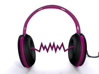 Kopfhörer Soundsymbol
