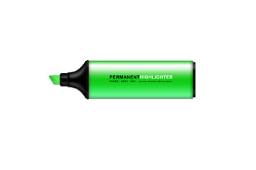 Permanent Highlighter Green