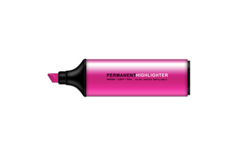 Permanent Highlighter  Magenta