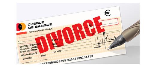 frais de divorce, frais d'avocat