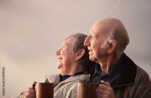 Relaxed Senior Couple