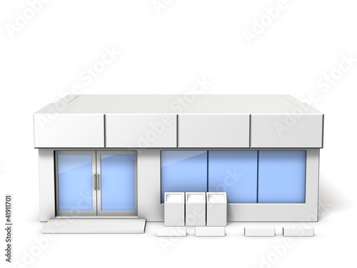 Architectural models of convenience store