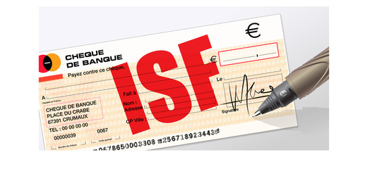 paiement de l'ISF, impot sur la fortune