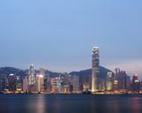 Hong kong from vitoria bay