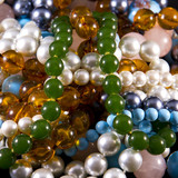 Jewelry, necklaces, pearls