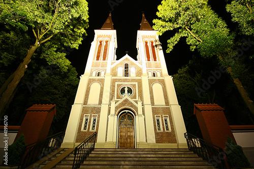 Church in Grocholice. Poland - 41916700