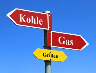 Grillen Kohle oder Gas?