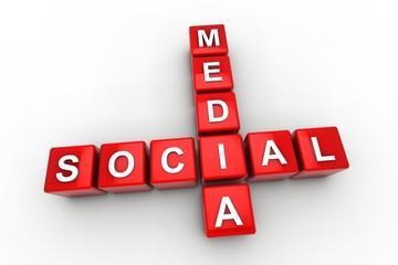 Social Media red