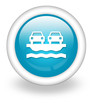 "Light Blue Icon ""Vehicle Ferry"""