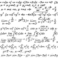 Algebra seamless background