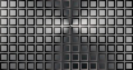 optical illusion Struck metallic plate