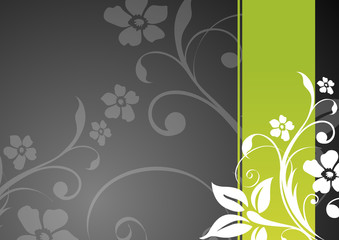 floral vector template