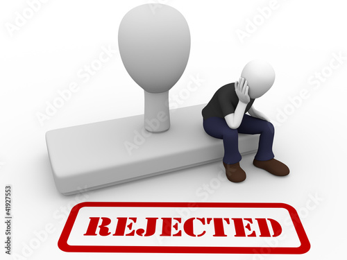 Man rejected