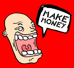 Make money message