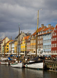 Boats and colorful buildings on Nyhavn