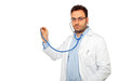 medico e stetoscopio