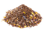 coffee-like, caffeine-infused mate and red rooibos blend, pile o poster
