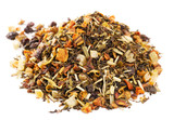 Loose Leaf Green Tea and  Rooibos with lemon, orange citrus,  ov