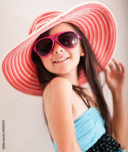 Fashion summer girl