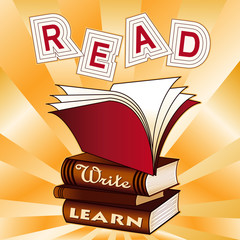 Read, Write, Learn!  Books for school, education, literacy