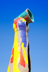 Dona i Ocell sculpture of Joan Miro in Barcelona