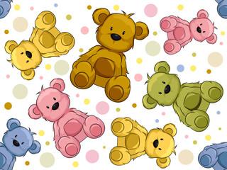 Seamless Teddy Bears