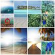 Maldives collage