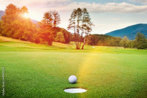 Plexiglas Golf Golf