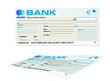 chèque de banque - perspective