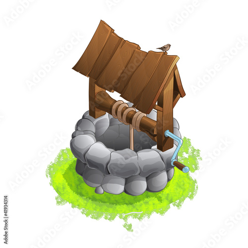 Isometric Medieval Well