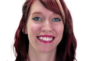 Woman Smiles
