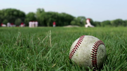 Baseball Field Scene