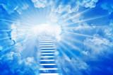 Fototapety Gökyüzüne Merdiven, Stairs in sky