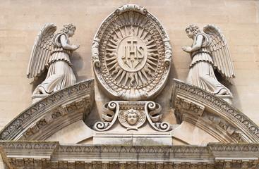 Church of the Jesus. Lecce. Puglia. Italy.