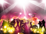 Fototapety Party color light illustration