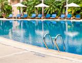 Beautiful swimming pool. poster