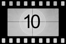 Compte à rebours de film 10