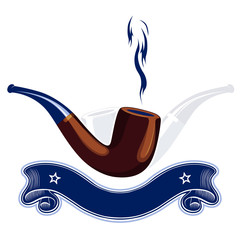 smoke tube emblem