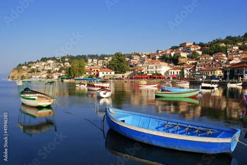 Leinwandbild Motiv Ohrid
