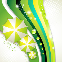 Colorful green background backgroun