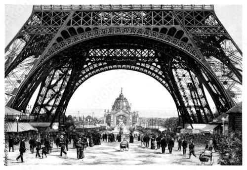 Paris - Eiffel Tower - 19th century - 41948332