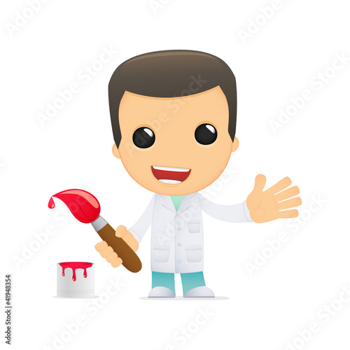 funny cartoon doctor