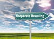 "Signpost ""Corporate Branding"""