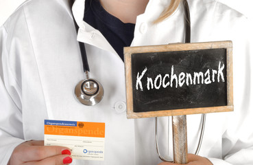 Organspende Organspenderausweis Knochenmark