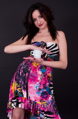caffè ragazza