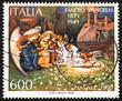 Postage stamp Italy 1990 shows Nativity by Emidio Vangelli