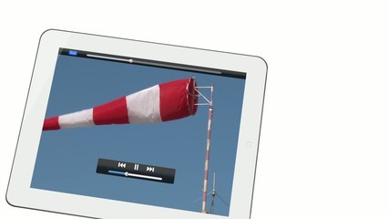 vidéo manche a air et tablette