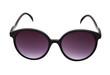 Purple sunglassess isolated on white