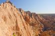 Morning Shadows in a Desert Canyon