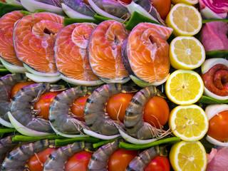 Fisch in einem Fisch-Restaurant